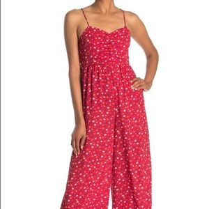 NWT Madewell Ruched Wide Leg Jumpsuit: Size 20